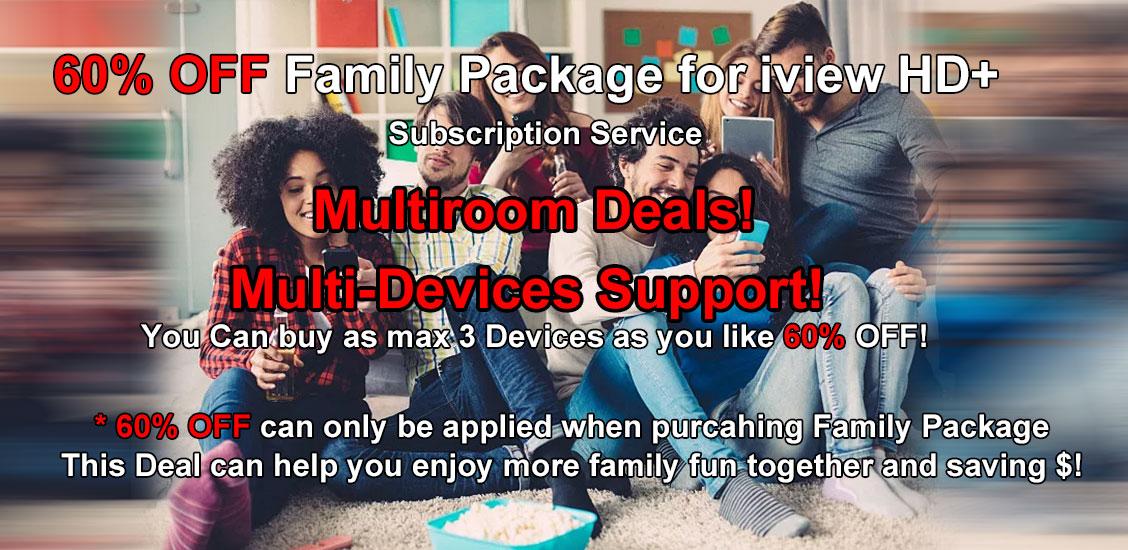 IPTV Family Package