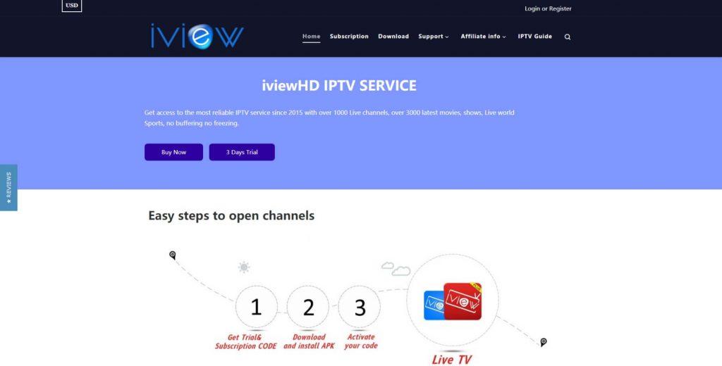 iviewhd iptv website